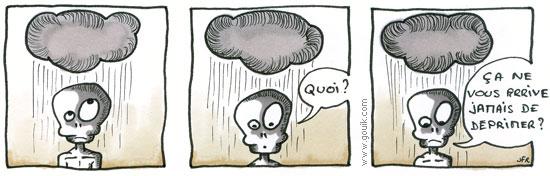 Bande dessinée - Petit déprime