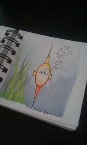 Petit poisson, son son...